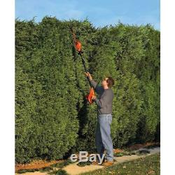 18 in. 20-Volt MAX Lithium-Ion Cordless Pole Hedge Trimmer with 1.5 Ah Battery a