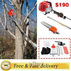 2019 NEW Petrol Hedge Trimmer Chainsaw Brush Cutter Pole Saw Tools 9in1 43cc