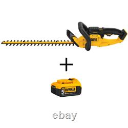 22 In. 20V Max Lithium-Ion Cordless Hedge Trimmer (Tool Only) With Bonus 20V Max