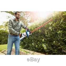 24 in. 40-Volt Lithium-Ion Cordless Battery Hedge Trimmer Tool