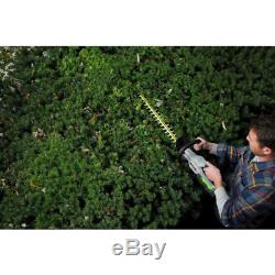 24 in. 56V Lithium-Ion Cordless Electric Brushless Hedge Trimmer (Tool Only)