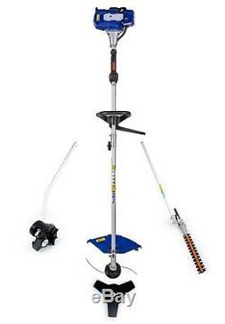 26CC 4 in 1 Multi Tool String Trimmer, Brush Cutter, Hedge Trimmer, Edger