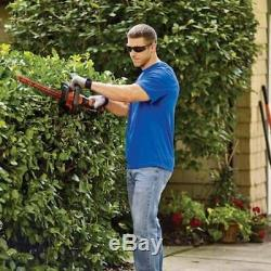 40-volt Max 24-in Dual Cordless Electric Hedge Trimmer Tool Kit Battery Charger