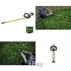 56-V Lithium-Ion Cordless 24 Brushless Hedge Trimmer Electric Brake Tool Only