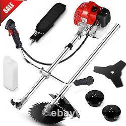 58cc Multi Function 4 in 1 Garden Tool Brush Cutter, Grass String Trimmer