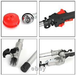 5 in 1 52cc Petrol Hedge Trimmer Chainsaw Brush Cutter Pole Saw Outdoor Tools U9