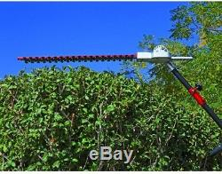 Articulating Hedge Trimmer Universal Attachment 22 Inch Tool Lawn Grass Cutter