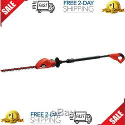 BLACK+DECKER 20V MAX Cordless Lithium Pole Hedge Trimmer Tool without Battery