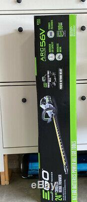 Brand New Ego HT2410 HT2411 Cordless Brushless 24 Hedge Trimmer 56V Tool Only