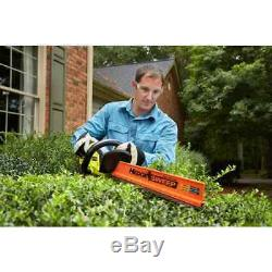 Cordless Hedge Trimmer 22in 18V Lithium Ion Dual Action Blade Ryobi Bare Tool