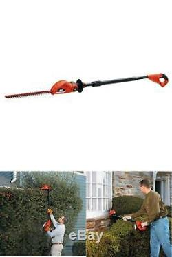 Cordless Pole Hedge Trimmer Electric Lithium Ion 20 Volt 18 in. Tool Only New