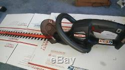 Craftsman C3 19.2 Volt Cordless Hedge Trimmer 315. CR2600 Bare Tool Very Nice