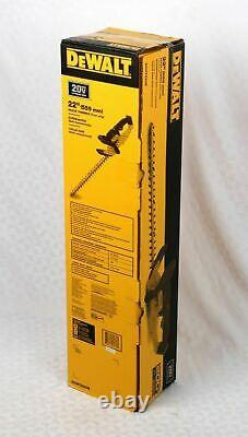 DEWALT 20V MAX Cordless Hedge Trimmer, 22-Inch, Tool Only (DCHT820B) No Battery