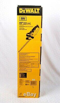 DEWALT DCHT820B 22in. 20V MAX Lithium-Ion Cordless Hedge Trimmer (Tool Only)