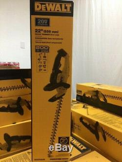 DEWALT DCHT820B 22in. 20V MAX Lithium-Ion Cordless Hedge Trimmer Tool Only (NEW)