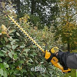 DEWALT DCM563P1-GB 18 V XR Hedge Trimmer, 1 x 5 Ah, Yellow