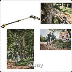 DeWALT DCPS620B Pole Saw 20V 8 Heavyduty Angled Head Chainsaws MAX XR Tool Only