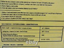 Dewalt 20v Max Li-Ion 22 In. Hedge Trimmer (Tool Only) DCHT820B
