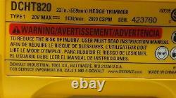 Dewalt 22 20 Volt Max Hedge Trimmer Tool Only (HL5)