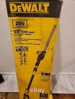 Dewalt 22 Pole Hedge Trimmer (Tool Only) 20V 12' max height