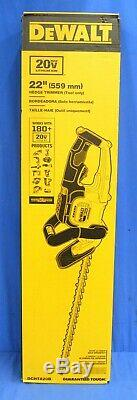 Dewalt DCHT820B 20v Max Li-Ion 22 In. Hedge Trimmer (Tool Only)