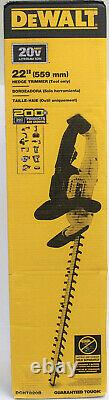 Dewalt DCHT820B 20v Max Li-Ion CORDLESS 22 In. Hedge Trimmer (Tool Only)