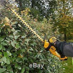 Dewalt DCM563M2 18v Cordless Hedge Trimmer Cutter + 2 x 4.0ah Battery + Charger