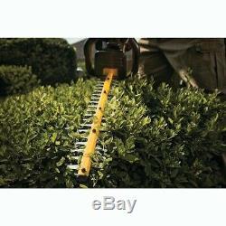Dewalt DCM563P2 18v Cordless Hedge Trimmer Cutter + 2 x 5.0ah Battery + Charger