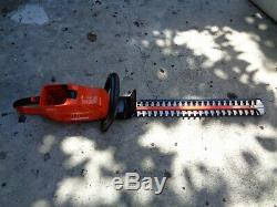 ECHO 24 in. 58-Volt Lithium-Ion Brushless Cordless Hedge Trimmer TOOL ONLY