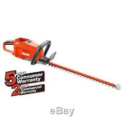 ECHO Cordless Hedge Trimmer 24 in. 58-Volt Anti-Jam Lithium-Ion (Tool Only)