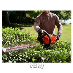 ECHO Cordless Hedge Trimmer 24 in. 58-Volt Li-Ion Dual-Action Blades (Tool Only)