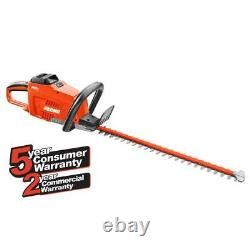 ECHO Cordless Hedge Trimmer 24 in. 58-Volt Lithium-Ion Brushless Rechargeable