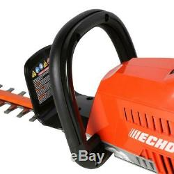 ECHO Cordless Hedge Trimmer 24 in. 58-Volt Lithium-Ion Straight Shaft Tool Only