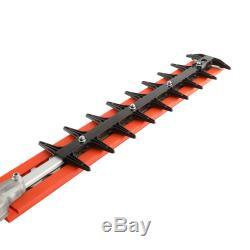 ECHO Hedge Trimmer 21 Inch Double Sided Blades 25.4 Cc Gas 2 Stroke Cycle Tool