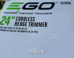 EGO Cordless Hedge Trimmer 24 Lithium-ion 56v Tool Only HT2401. Openbox unused
