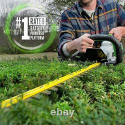EGO HT2410 Power+ 56-Volt 24-in Dual Cordless Electric Hedge Trimmer (Tool Only)