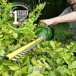 EGO Power+ HT2400 24-Inch 56-Volt Lithium-ion Cordless Hedge Trimmer Tool Only