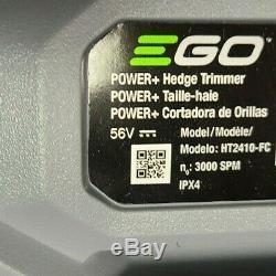 Ego HT2410-FC Cordless Brushless 24 Hedge Trimmer 56V 56 Volt Tool Only Refurb