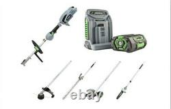 Ego Mhsc2002e Multi Tool Kit With 5ah Battery And Rapid Charger. Brand New2