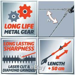 Einhell 900W Long Reach Telescopic Electric Hedge Trimmer Cutter Garden Tool