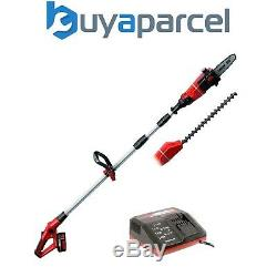 Einhell Power X Change GE HC18LI 18v Pole Saw Pruner & Hedge Trimmer 3ah KIT
