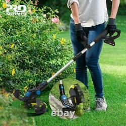 Electric Trimmer Grass String Edger Cordless Weed Eater Lawn 20v Cutter Tool