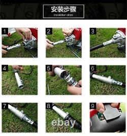 GX35 backpack gasoline 4 stroke brush grass cutter trimmer handle mower tool