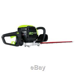 GreenWorks GHT80320 80-Volt 24-Inch Cordless Hedge Trimmer Bare Tool 2200702