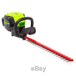 GreenWorks HT80L00 80-Volt 24-Inch DIY Hedge Trimmer Bare Tool 2202202
