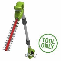 Greenworks 24v Long Reach Split-shaft Hedge Trimmer (Tool Only)