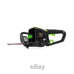 Greenworks Pro 60-volt Max 26-in Dual Cordless Electric Hedge Trimmer- Tool Only