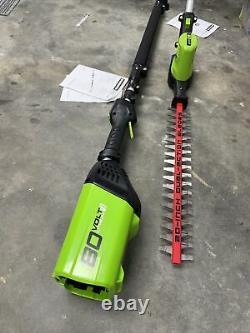 Greenworks Pro 80v Pole Hedge Trimmer Tool Only PH80B00