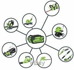 Greenworks Tools 2200207 Battery Powered Long Reach Model Hedge Trimmer (24v) UK