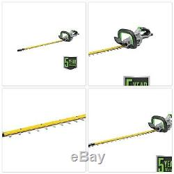 Hedge Trimmer Steel Cordless Lithiumion Brushless Electric Brake Cut (Tool Only)